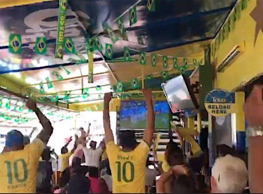Ook ontlading in Suriname na winst Brazilië tegen Costa Rica
