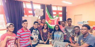 Suriname voor de tweede keer op de FIRST Global Challenge