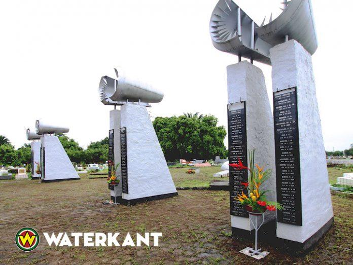 30ste herdenking van de SLM vliegramp van 7 juni 1989 in Suriname