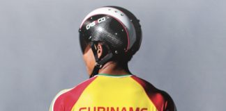 Wielrenner Jaïr Tjon En Fa Brand Ambassador van Republic Bank in Suriname