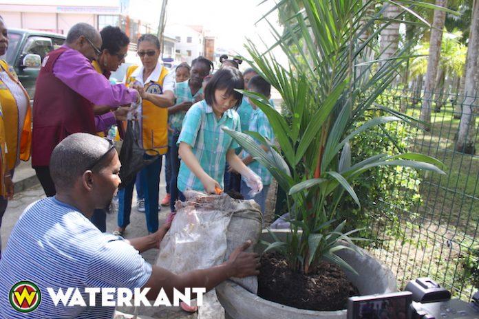 Donatie voor Palmentuin in Suriname i.v.m. Keti Koti