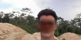 Foto vermoedelijk dader verspreidt na moord te Brownsweg Suriname