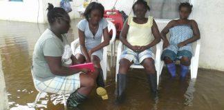 Er voltrekt zich een ramp in zuiden en oosten van Suriname