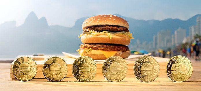 Ook in Suriname wordt 50 jaar Big Mac gevierd met speciale coin