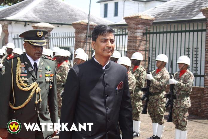 Nieuwe ambassadeur van India in Suriname