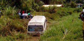 Chauffer die met bus in trens belandde heeft vervallen rijbewijs uit Suriname