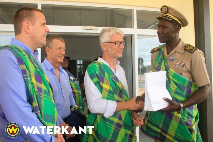 Franse parlementaire delegatie op bezoek in Suriname