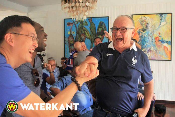Ook in Suriname vieren Fransen feest na WK overwinning