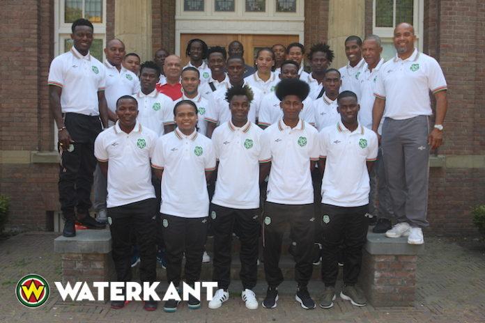 Nationale team Suriname speelt vandaag tegen Sparta