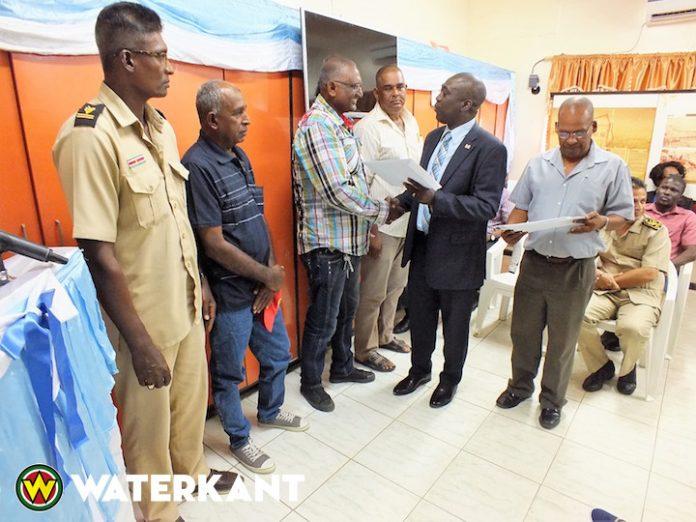 Nieuw bestuur Overliggend Waterschap Multi-purpose Corantijn Project in Suriname