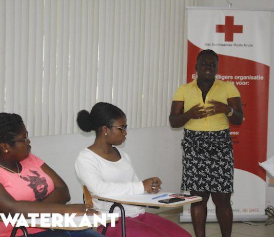 Surinaamse Rode Kruis informeert over Zika preventie in Suriname