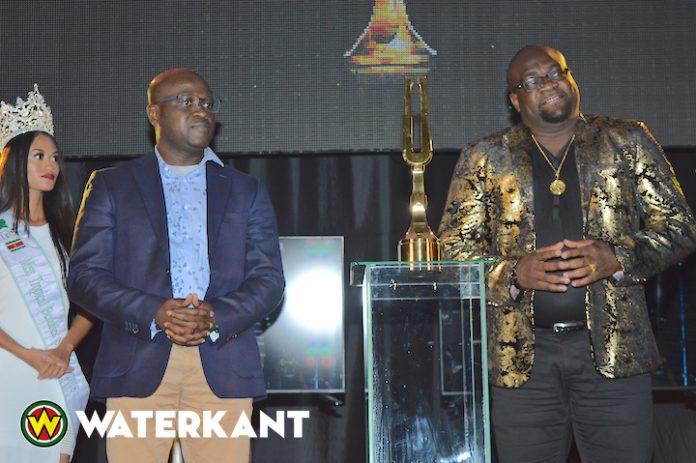 Gloednieuwe Suripop-trofee voor 2018 gepresenteerd in Suriname