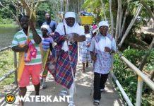 President Suriname kiest Albert Aboikoni als granman der Saramaccaners
