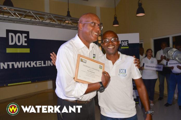 Nieuwe voorzitter partij voor Democratie en Eenheid in Ontwikkeling in Suriname