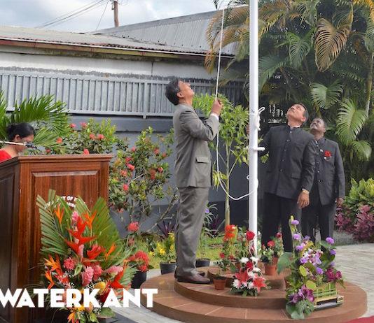 Ambassade India in Suriname staat stil bij Onafhankelijkheidsdag