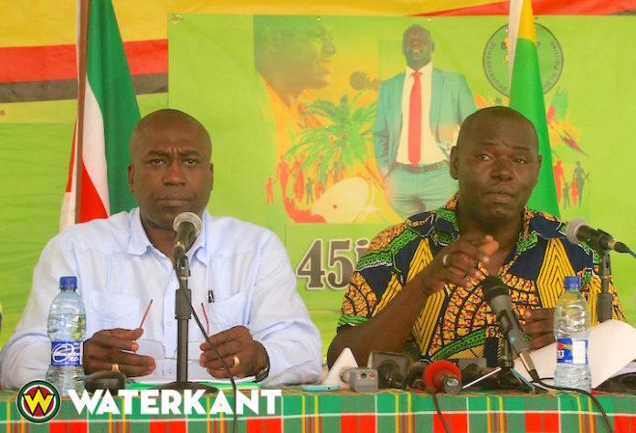 Asabina en Dikan reageren op kritiek in zaak benoeming Aboikoni in Suriname