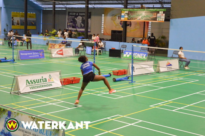 Carebaco Junior International badminton kampioenschappen in Suriname