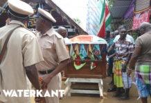 Beëindiging rouwproces na heengaan granman Forster in Suriname