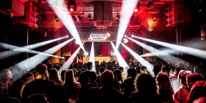BORGOE -meets- PARBO Indoor Festival Zaterdag 15 september in R'dam