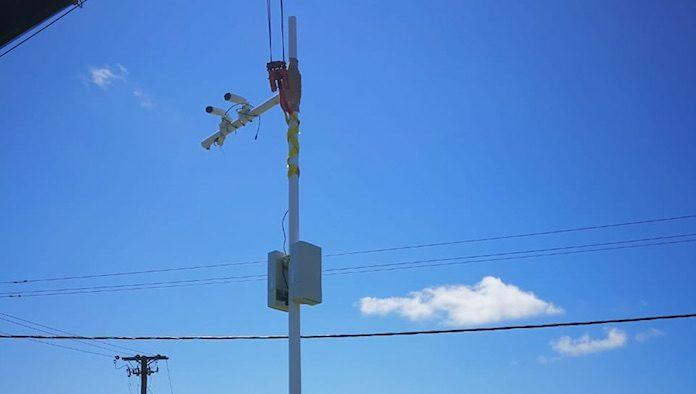 Eerste camera's voor Safe City-project Suriname geïnstalleerd