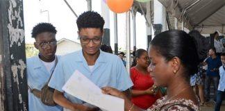 Eindexamenuitslagen van het Mulo in Suriname vrijgegeven