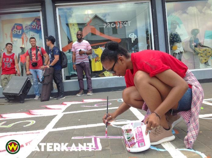 Streetart-project om artiesten in Suriname meer bekendheid te geven