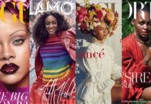 Revolutie in de tijdschriftenwereld: veel zwarte modellen op covers