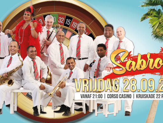 Sabroso live en gratis te zien in Corso Casino te Rotterdam