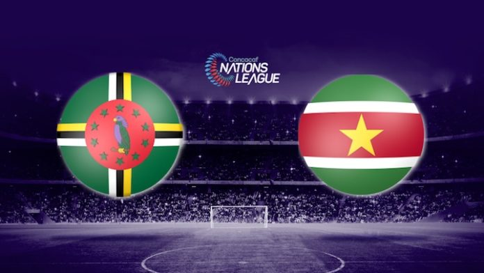 Concacaf Nations League: Dominica tegen Suriname 0-0