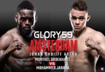 Kickbokser Murthel Groenhart klaar voor Glory in de Arena