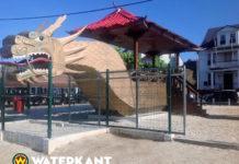 Foto's: 'Draak van Paramaribo' vormt gevaar voor kinderen in Suriname