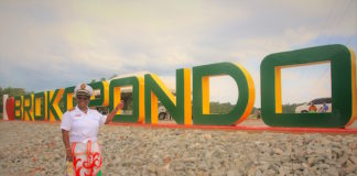 'I love Brokondo' kunstwerk onthult in Suriname