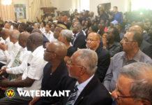 President Suriname hield indienen geloofsbrieven Meye aan Israël tegen