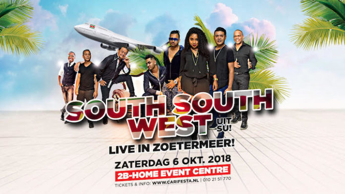South South West uit Suriname live in Zoetermeer op 6 oktober