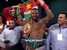 Tyrone Spong wint weer voor Suriname in Palm Beach