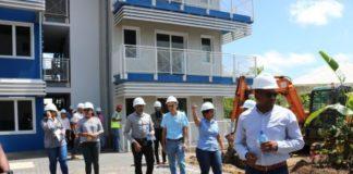 Nieuwe studentenflats in Suriname worden eind deze maand opgeleverd