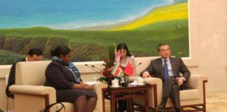 Chinese minister Buitenlandse Zaken op bezoek in Suriname