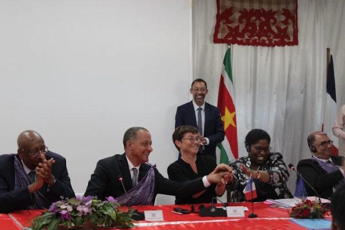 Suriname tekent overeenkomst met Frankrijk inzake samenwerking en vriendschap