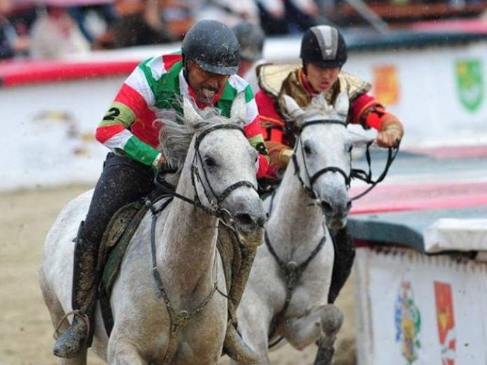 Suriname op internationale paardenrace in Hongarije