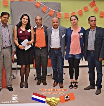 Installatie van nieuw bestuur VHP Nederland