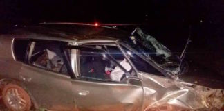 Vier gewonden bij zware aanrijding in de buurt van Zanderij in Suriname
