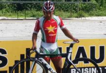 Wielrenner Jaïr Tjon En Fa komt voor Suriname uit in Parijs