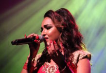 Nisha Madaran uit Suriname op 'Lights of Divali' in Den Haag