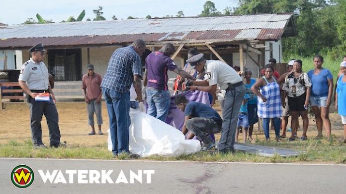 Hardrijder schept 15-jarige jongen op Oost-Westverbinding in Suriname