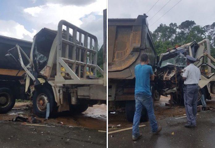 Weer vrachtwagen betrokken bij aanrijding in Suriname