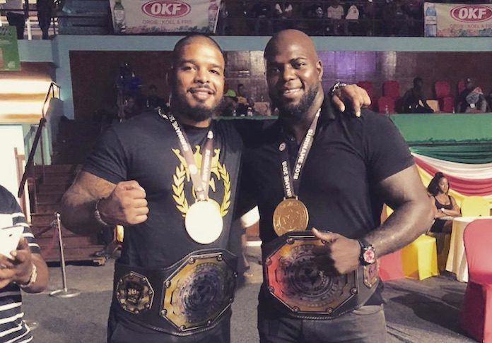 Tyrone Spong en Jairzinho Rozenstruik krijgen Lifetime Achievement Awards in Suriname