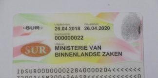 Suriname krijgt binnenkort nieuwe elektronische ID-kaart