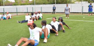 Sportdag Ilonka Elmont Foundation in Suriname