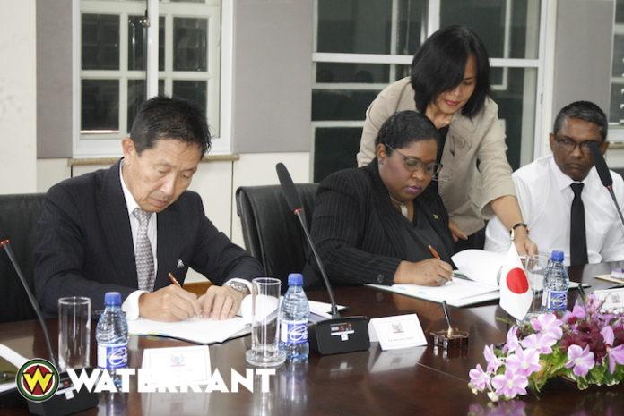 Japan schenkt U$. 3,5 miljoen voor versterking visserijsector Suriname
