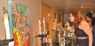 Opening 53ste Nationale Kunstbeurs in Suriname